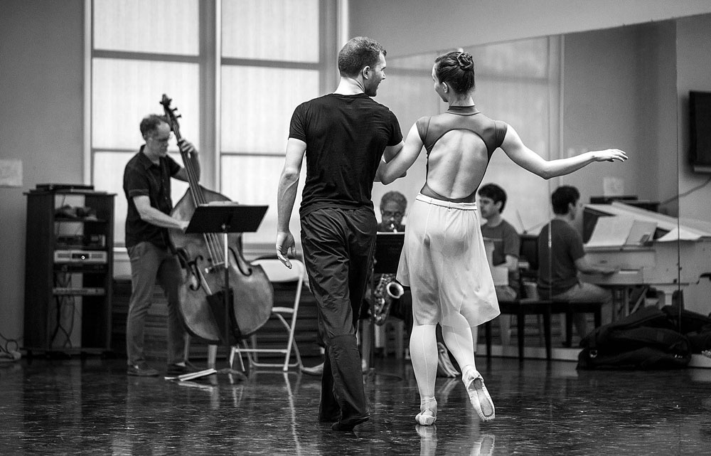 Photos of Gershwin Ballet suites performances.