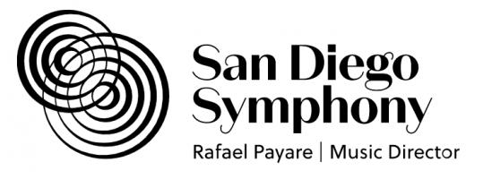 San Diego Symphony logo.